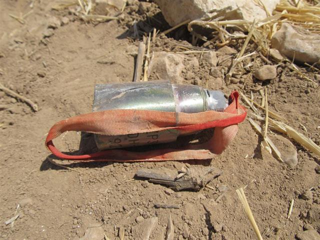 Cluster bomblet