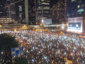 Occupy Central: Is the Mesh Ready for Prime-time?