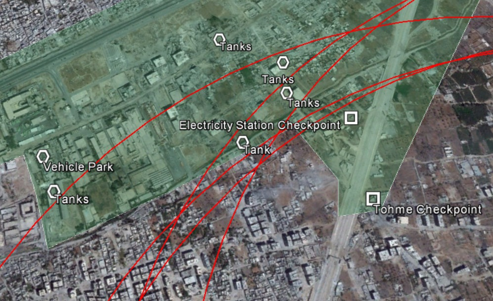 Updated Google Earth Imagery from August 24th 2013 Reveals More Details About The August 21st Sarin Attack