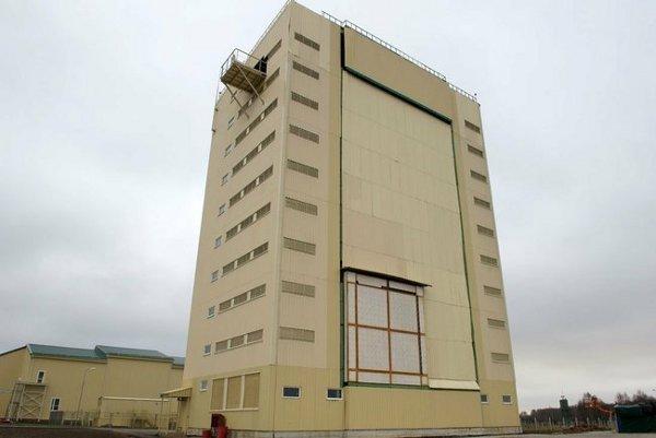 Voronezh DM radar station in Kaliningrad (2011)