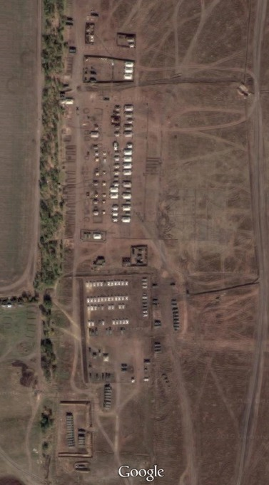 Zoomed-in recent satellite imagery, available on Google Earth at 47.403252, 39.227971