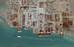 Venezuela's Aframax Tanker Still at Iran's Sadra Shipyard