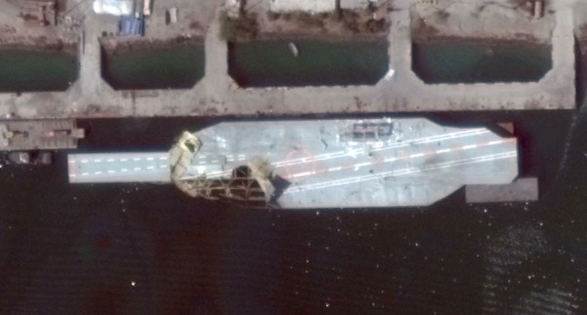 DG (16MAR15) Carrier Mockup Bander Abbas