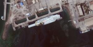Iran's Mock-up Aircraft Carrier Returns to Bandar Abbas