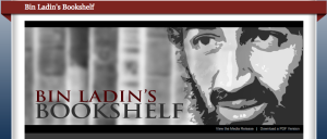 Analyzing Bin Ladin's Bookshelf