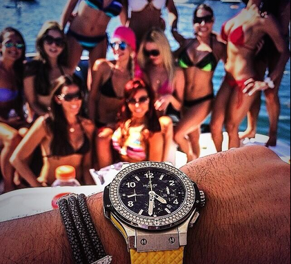 hublot big bang gang steel diamonds