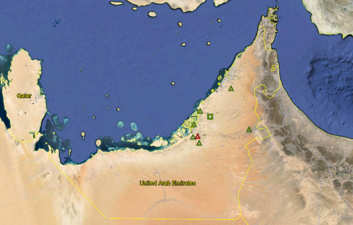 UAE New SAM Deployments