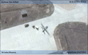 Turkey's Anka Block A UAV at Sivrihisar Test Airfield