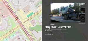 Exploring Russia's 53rd Brigade's MH17 Convoy with StoryMap