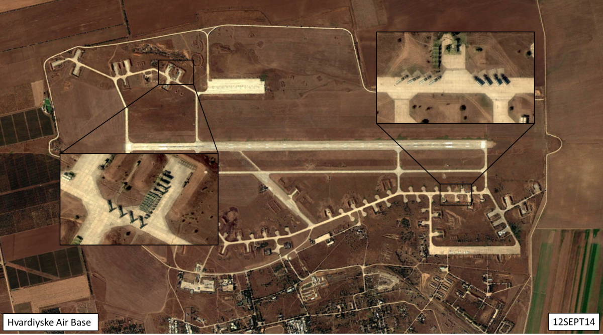 Russia Jumped S-300 from Hvardiyske Airbase