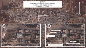 Fact-Checking Russia's Claim that It Didn't Bomb a Hospital in Syria
