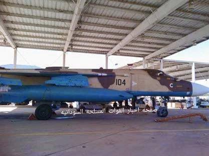 Sudan SU-24 King Khalid airbase