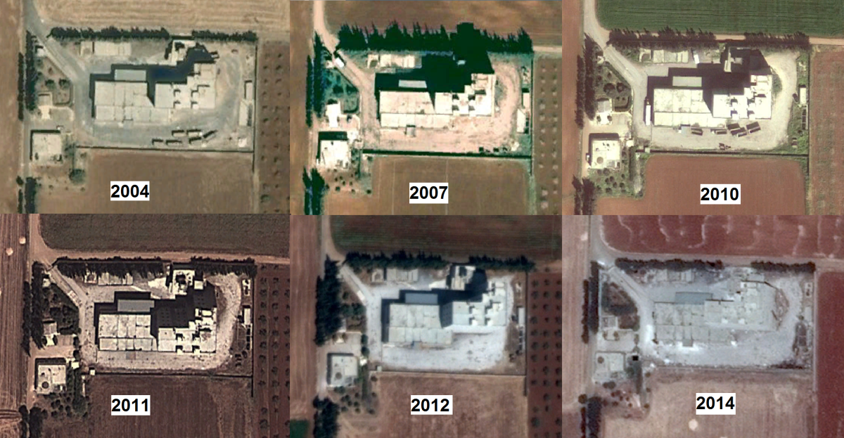 Older satellite imagery from the building from Google show not much has changed on the outside for at least 14 years.
