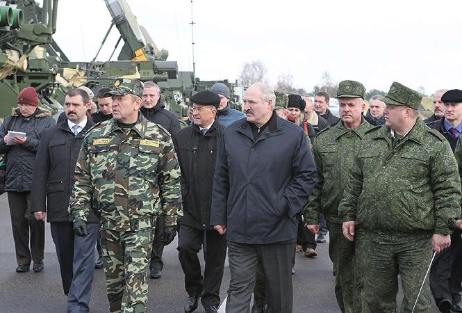 BO (18NOV13) Lukashenko 61st fighter Airbase