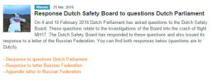 Six Takeaways from Today's Dutch Safety Board MH17 Response