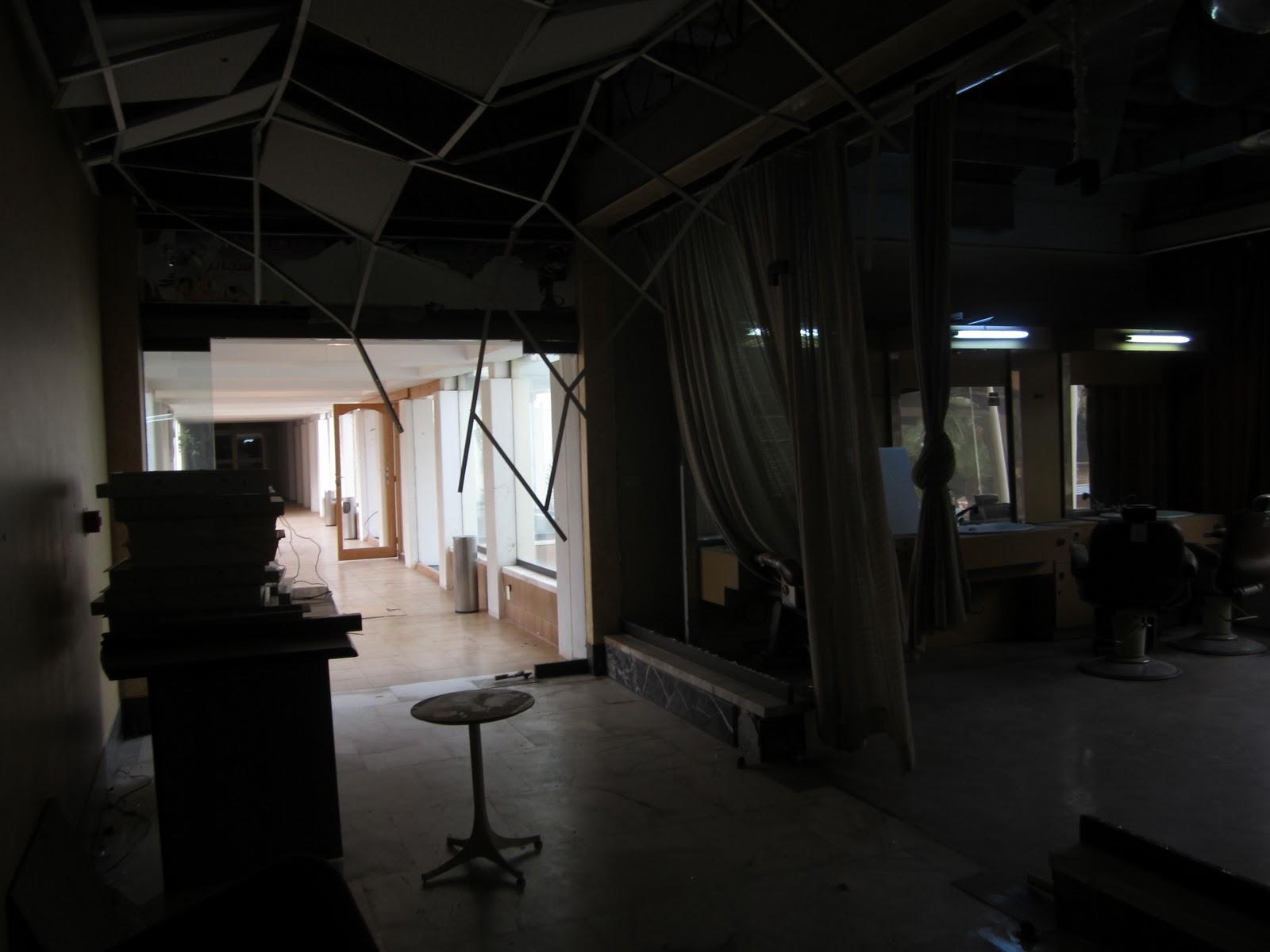 Inside the Gostik Hotel