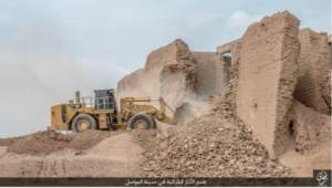 Iraqi Digital Investigation Team Confirms ISIS Destruction of Gate in Nineveh