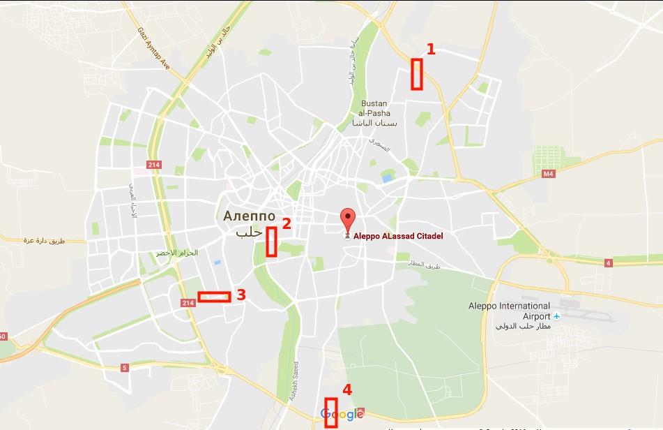 Aleppo Corridors