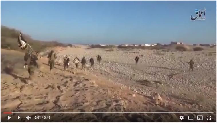 ISIS fighters move into Qandala (Uploaded on Youtube via Radio Qandala)