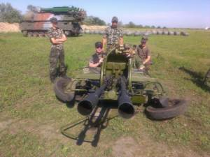 Photographs of Ukrainian Buks Geolocated in Poltava Oblast, Nearly Three Years Later
