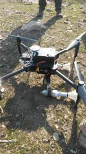 Iraqi Federal Police Using Weaponised Drones