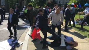 "Online Campaign to Identify ""Erdoğan's Bodyguards"" Following Assault"