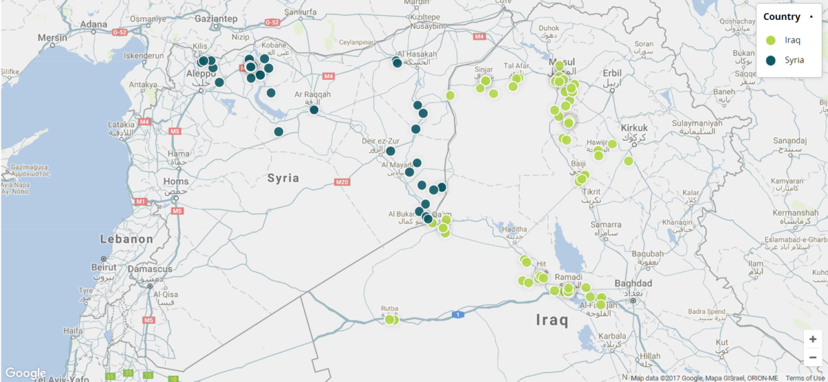 Crowdsourced Geolocation and Analysis of Coalition Airstrike Videos from Syria and Iraq