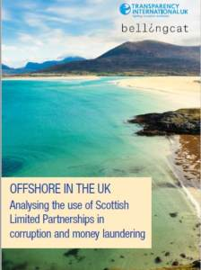 Offshore in the UK: Analysing the Use of Scottish Limited Partnerships in Corruption & Money Laundering