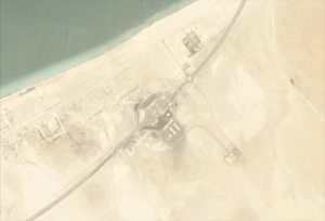 Satellite Imagery Confirms Qatari Isolation