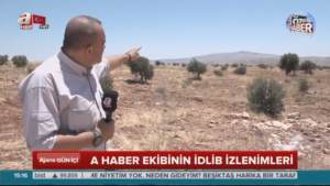 Is this the Site of a Future Turkish Base in Syria?