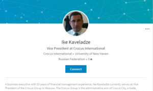 Who is Ike Kaveladze, the 8th Person at the Trump-Russia Meeting?