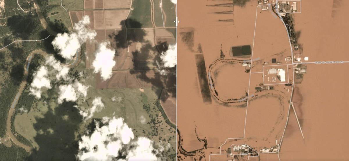 Planet Satellite Imagery Shows Harvey Devastation