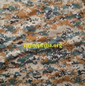 An example of IRGC Basij camouflage from Camopedia