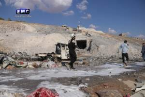 The Battle of Idlib Opens with the Bombing of Medical and Rescue Facilities