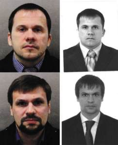 Skripal Suspects Confirmed as GRU Operatives: Prior European Operations Disclosed