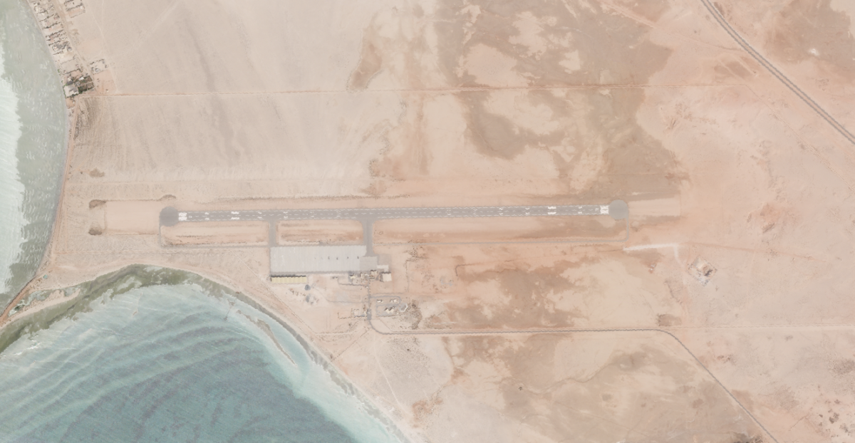 New Infrastructure at the UAE's al-Hamra Military Airfield