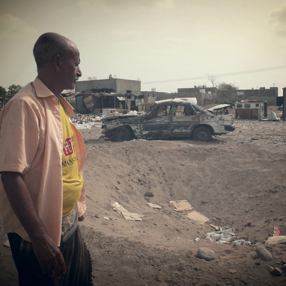 The Yemen Project: ADE10001 – Fayoush Market Strike