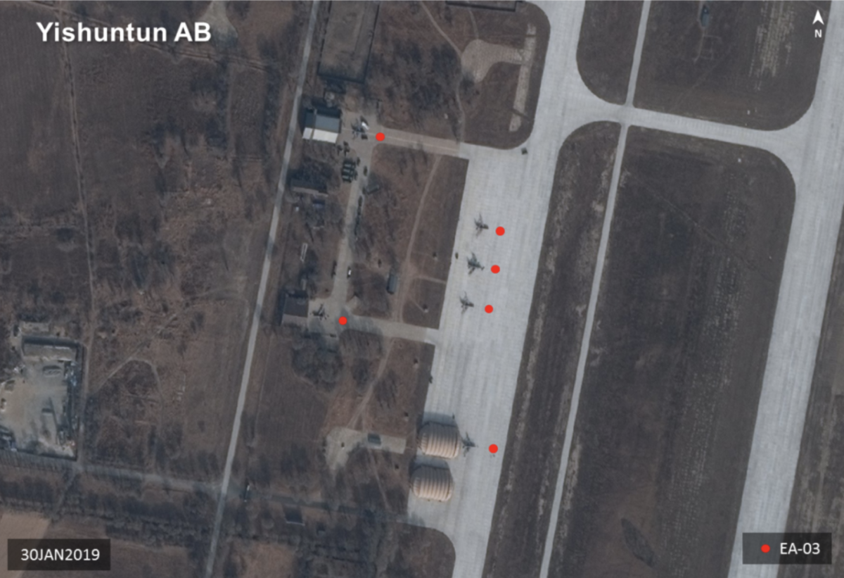 Additional EA-03 Arrive At China's Yishuntun