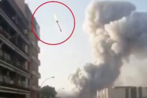 The Beirut Explosion – Is It A Bird? Is It A Plane? Is It A Faked Video Of A Missile?