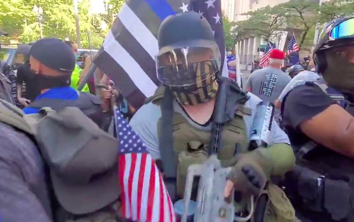 Patriot Coalition: Leaked Messages Show Far-Right Group's Plans for Portland Violence