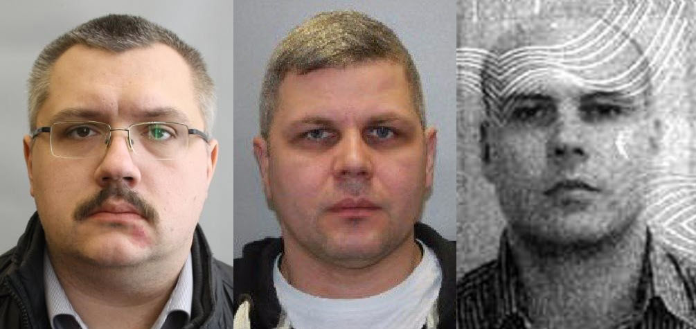 Dr. Alexey Alexandrov, Dr. Ivan Osipov, and Vladimir Panyaev. Source: Passport files