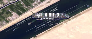 Suez Canal: Satellite Clues on a Stricken Cargo Ship