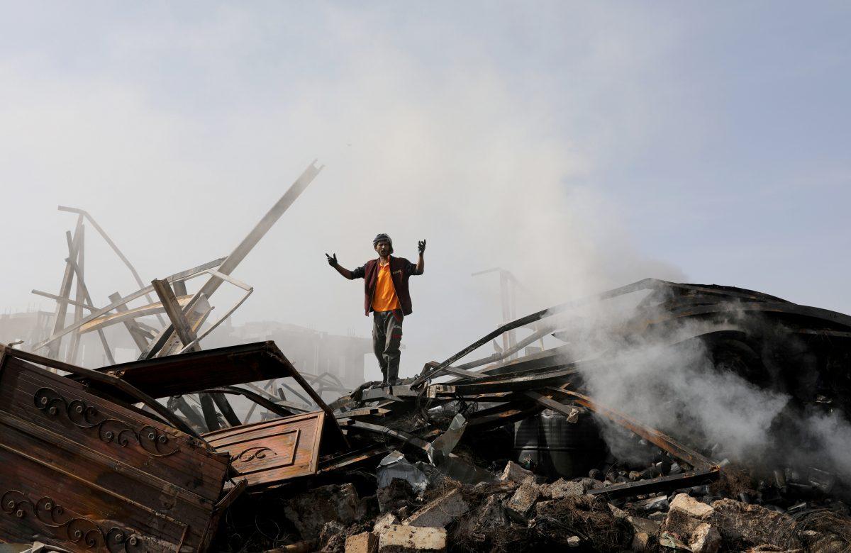A New Platform Tracks Airstrikes in Yemen