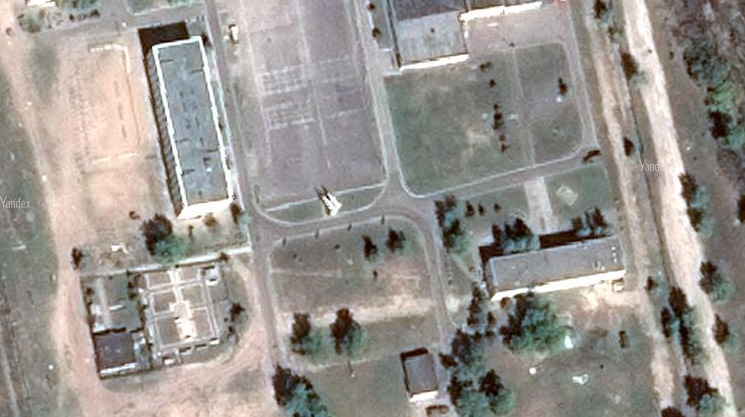 The missiles in the image above confirm Krasnoproshin's location in the earlier photo. [Source]