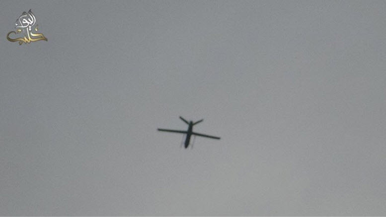 overhead-drone