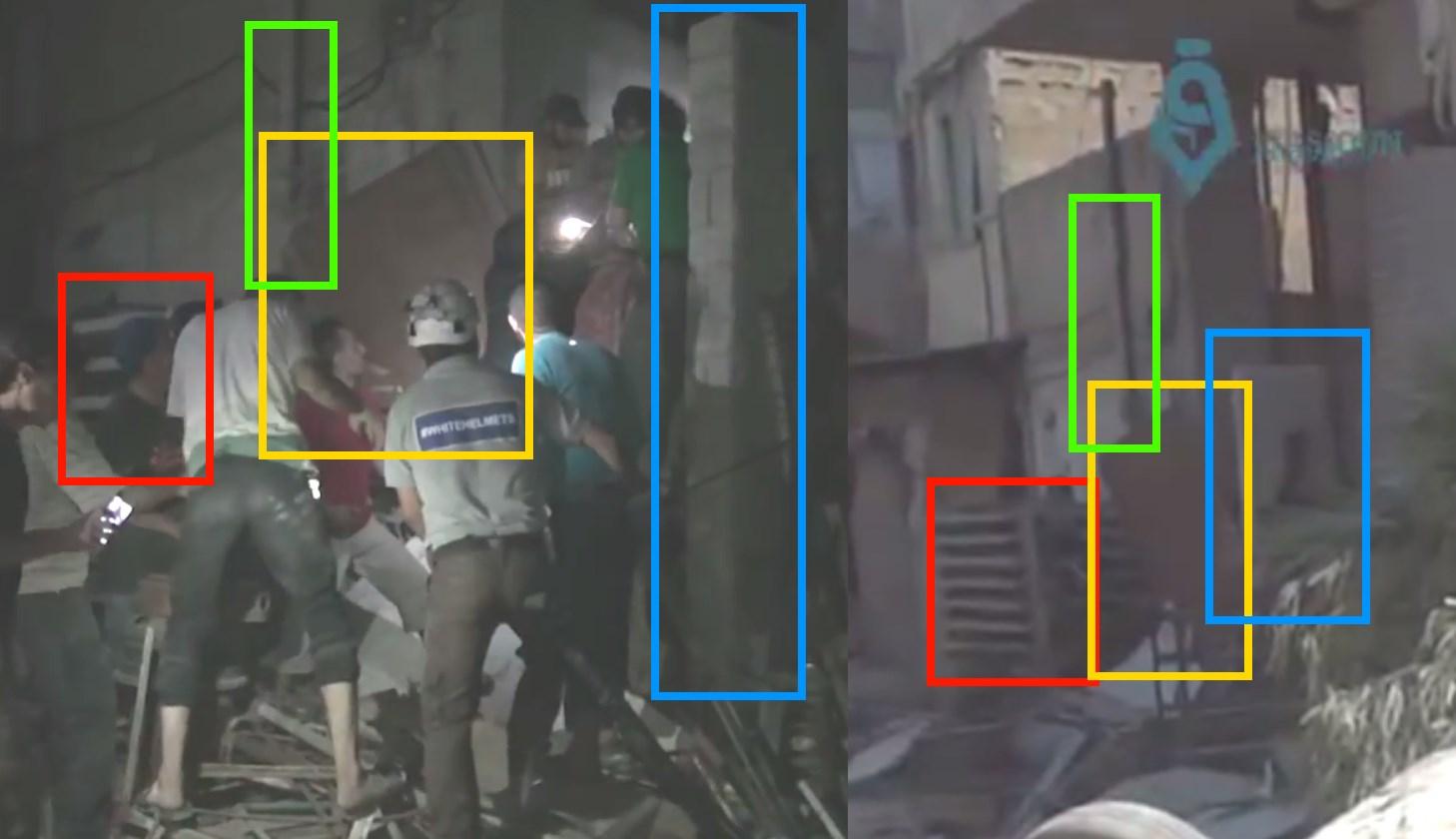 Comparison rescue location
