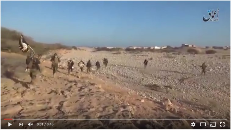 ISIS fighters move into Qandala (Uploaded on Youtube via Radio Qandala)