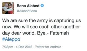 Image 24: @AlabedBana's final post.