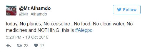 Tweet from Mr.Alhamdo
