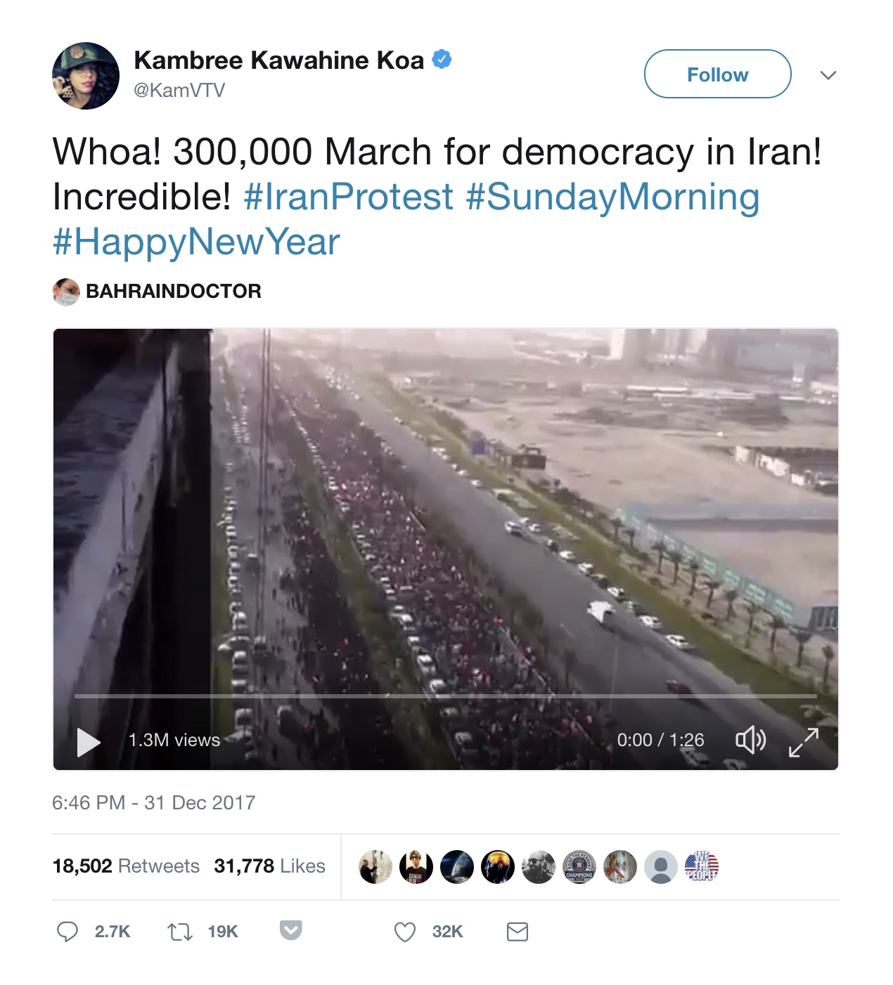 bellingcat - Verified and False Footage of the Iran Protests